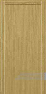 Дверь Глухая «Плоская» Шпон вертикальный