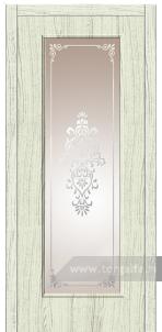 Дверь Со стеклом «Турин»
