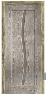 Дверь Со стеклом «Корсика»