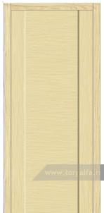 Дверь Глухая «Престиж» Горизонтальный шпон