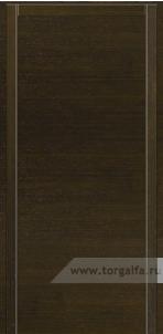 Дверь Глухая «Плоская» Шпон горизонтальный