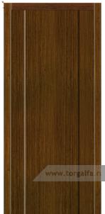Дверь Глухая «Престиж» Вертикальный шпон