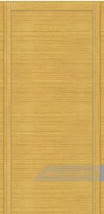 Дверь Глухая «Плоская» Усиленная Шпон горизонтальный