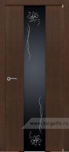 Texture 352 триплекс черные лилии