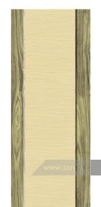 Дверь Глухая «Престиж» Комбинированная