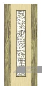 Дверь Под стекло «Комбинированная»