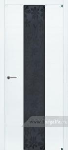 Texture 352 триплекс черный цветы