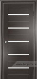 Дверь со стеклом Альба