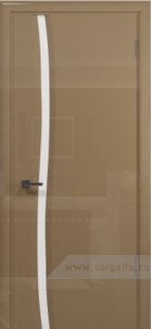 Эминере 1 глянец белое стекло