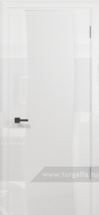 Эминере 2 глянец кипельно белое стекло