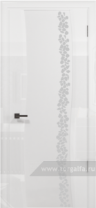 Эминере 2 глянец кипельно белое стекло глен