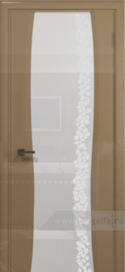 Эминере 3 глянец белое стекло глен