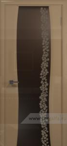 Эминере 3 глянец бронзовое стекло глен