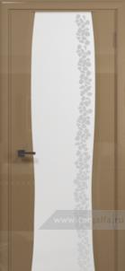 Эминере 3 глянец кипельное белое стекло глен
