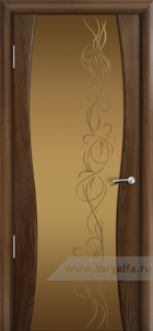 Омега бронзовое стекло фантазия