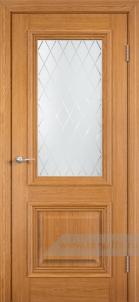 Прованс стекло Ромб (шпон натуральный)