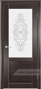 Дверь со стеклом Венеция1